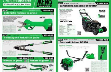 Novi proizvodi GARDENmaster za sezonu 2020
